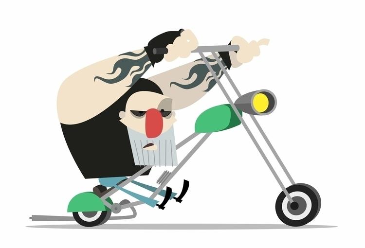 Centauro - characterdesign, illustration - goodideastyle | ello