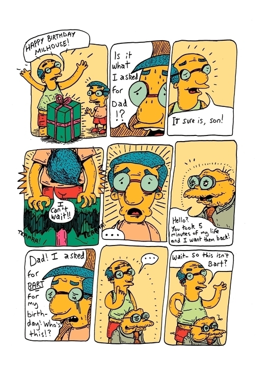 Milhouse - thesimpsons, milhouse - murraysomerville | ello