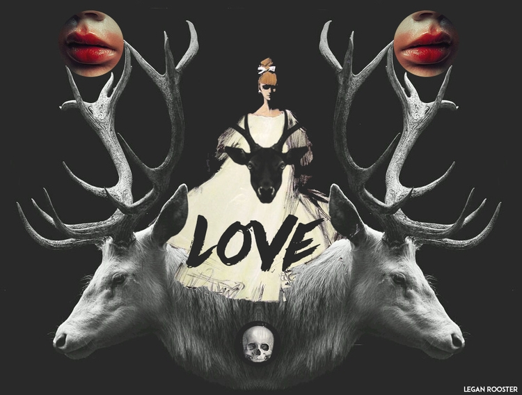LOVE deers - Leganroosterart - leganrooster | ello