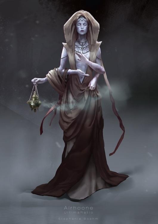 Alrhoone Characterdesign Ultima - stephanieboehm | ello