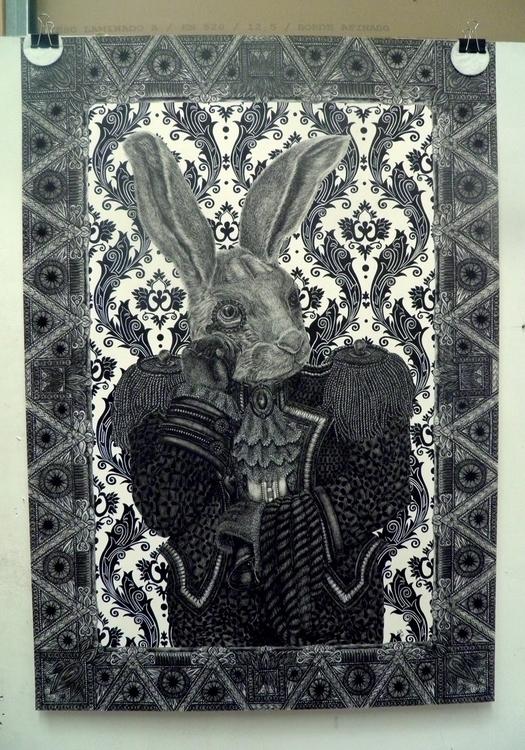 Nobleman Fibber. Ink, pencil, p - gadabout-2764 | ello