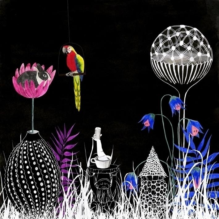 illustration, watercolour, phantasy - robincottage | ello