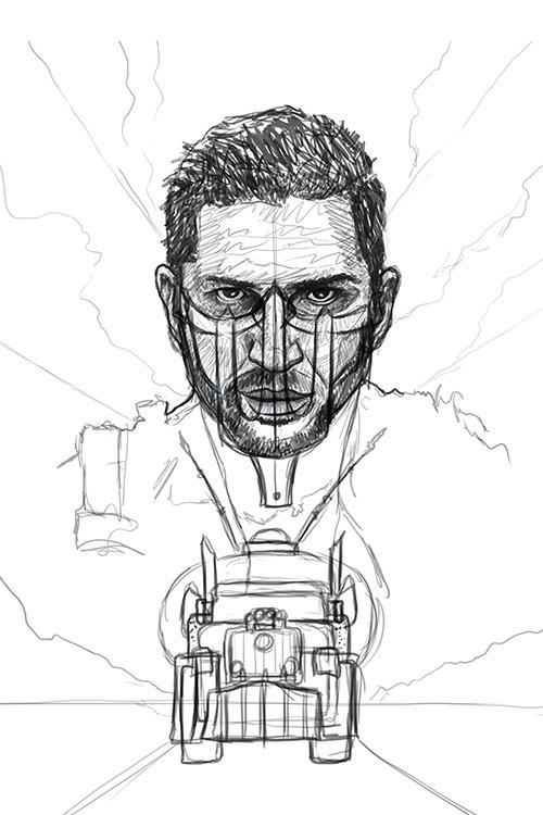 sketch initial drawing created  - ladislas-2174   ello