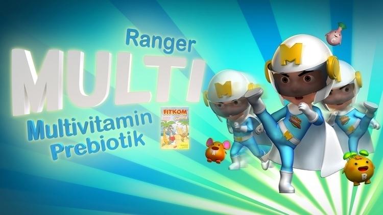 TVC Fitkom Ranger - Multi posed - benskywalking | ello