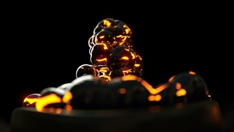 Lave Blobs - 3d, blender3d, lava - rence-2540 | ello