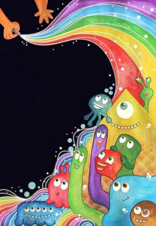 colour world - illustration, kids - amrita-4734 | ello