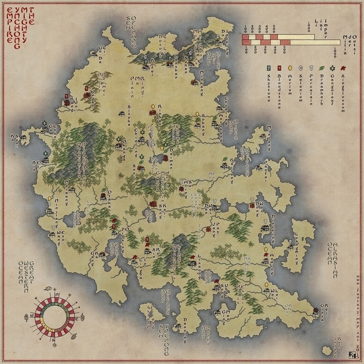 Mighty Ynchong Empire - version - robertaltbauer | ello