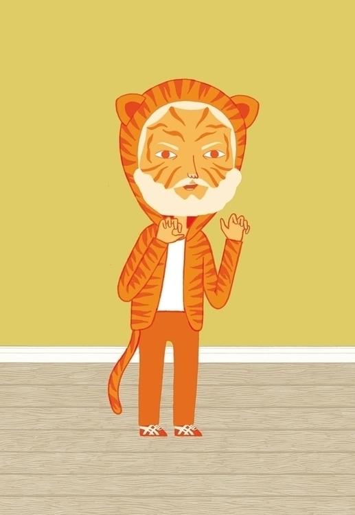 Terry tiger - characterdesign, character - maisieplatts | ello