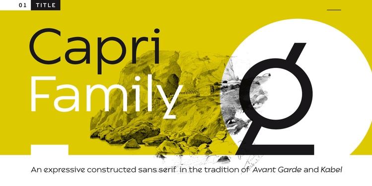 Capri expressive constructed sa - floodfonts | ello