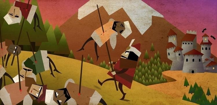 Vlad Tepes - illustration, characterdesign - emarchena | ello