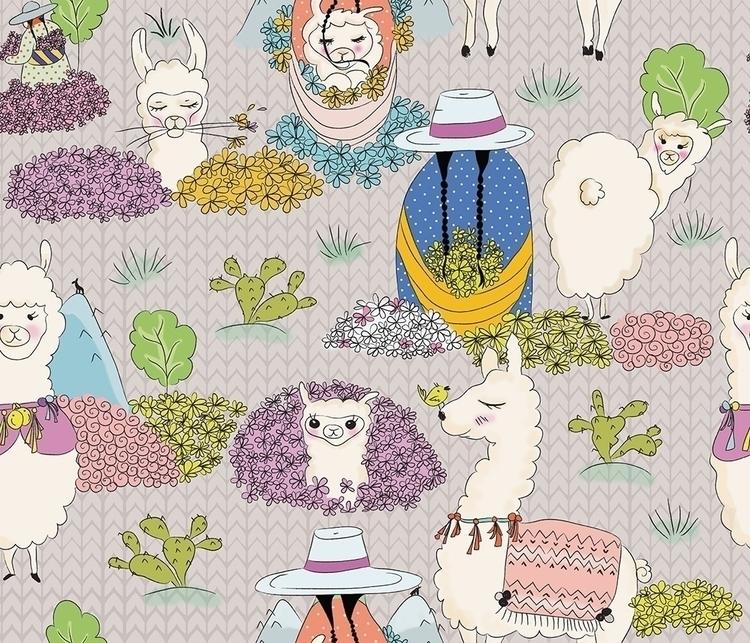 Campesinas - peru, patterndesign - cibelle-7505 | ello