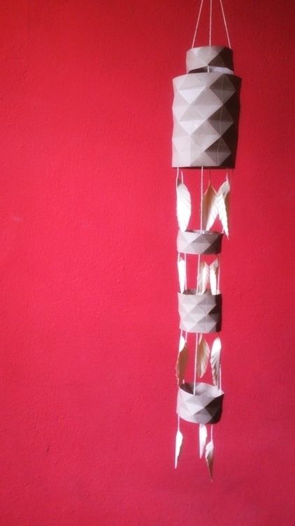 Origami paper Lantern - origami - itsamyth | ello