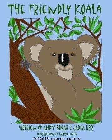 Friendly Koala book, pen ink, P - laurencurtis | ello