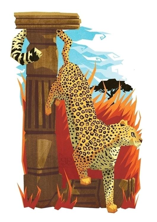 Leopard - leopard, animalalphabets - gemmagould | ello