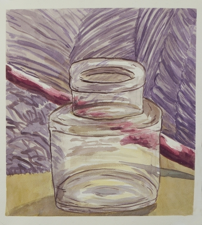 Water color study - watercolor, stilllife - ariannafahrenkamp | ello