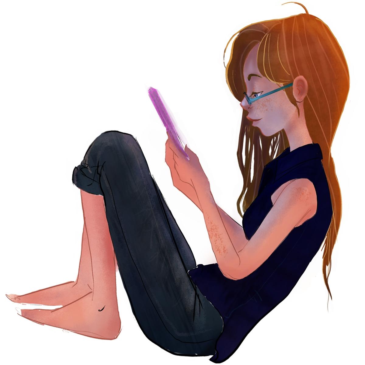 Emily - characterdesign, character - acknebar | ello
