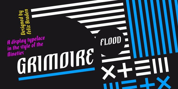 Grimoire combines seemingly con - floodfonts | ello
