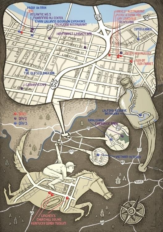 Louisville Map Hemispheres Maga - barrybruner | ello