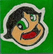 1.78 mini canvas magnet picture - ashleywilliams-1156   ello