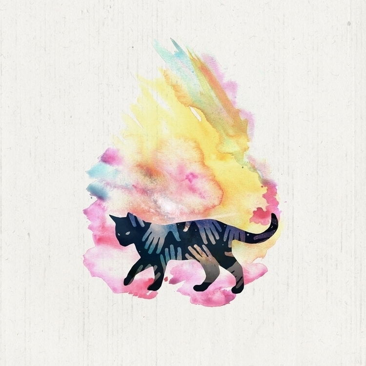 Lost Rewards - Cat, Illustration - coyplacido | ello