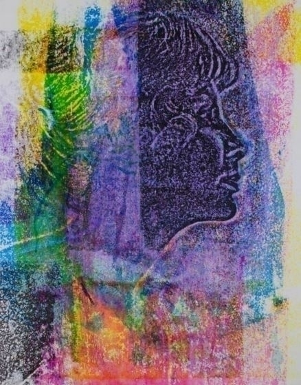Sea Change 16 20 screenprint - painting - alexanderkey   ello