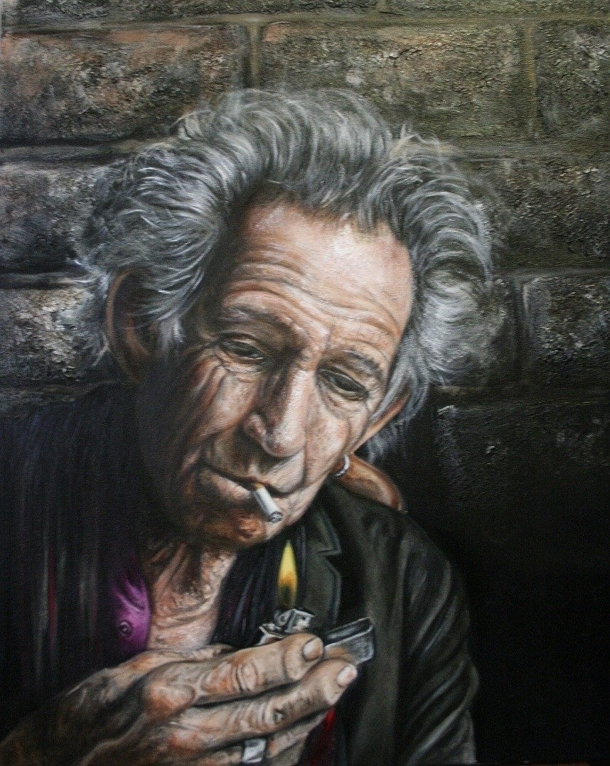 Keith Richards Michael Piper Oi - michaelpiper | ello