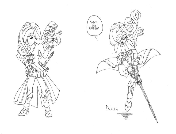 Final Fantasy IX: General Beatr - catnipandcocoa | ello