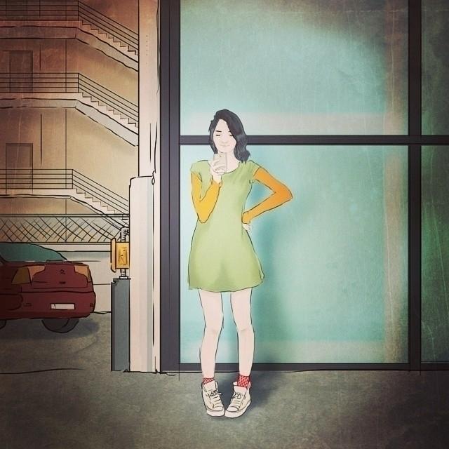 illustration, drawing - hakandemirbilek | ello