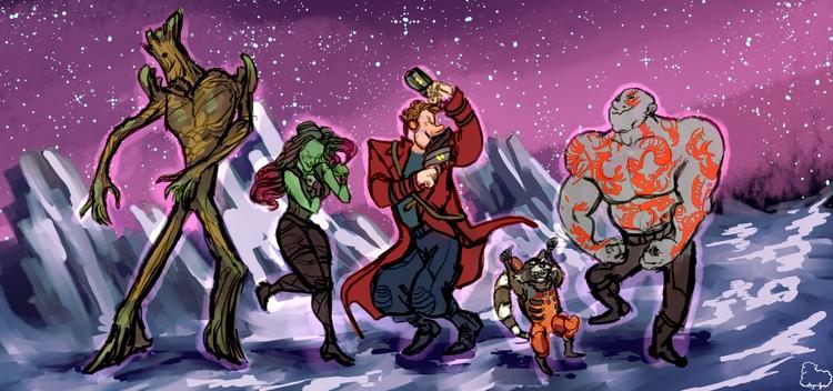 Guardians Galaxy good! Drax fav - sheeprilyn   ello