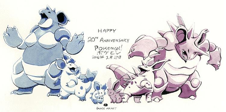 Happy 20th Anniversary Pokemon - gracekraft | ello