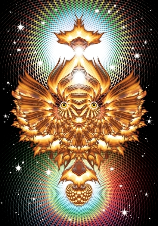fire flyer - visionaryart - todorwarp | ello