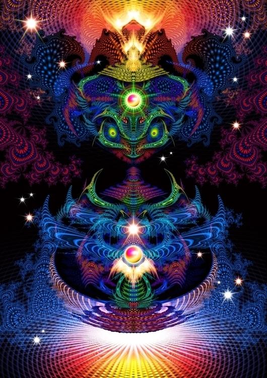 fractalien - visionaryart - todorwarp | ello