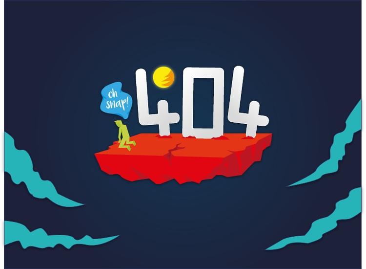 404 Error - error, illustration - ghulamrusli | ello