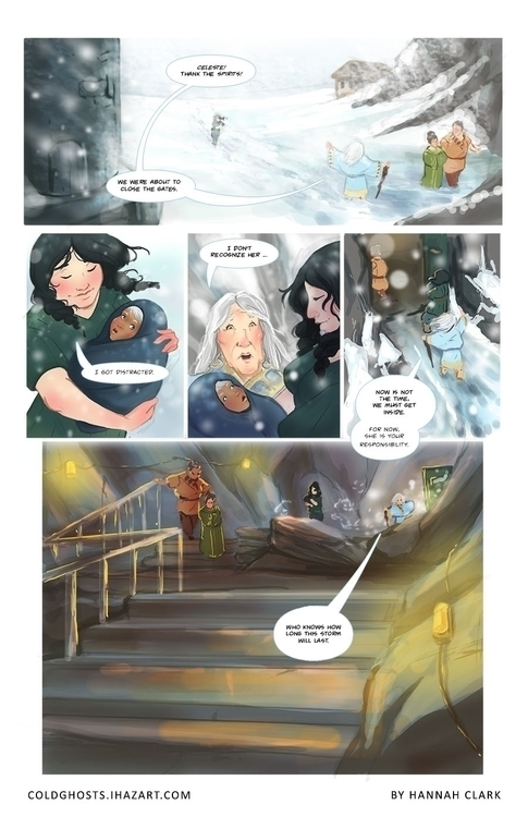 Personal Comic project pg 6 - comic - ihazart | ello