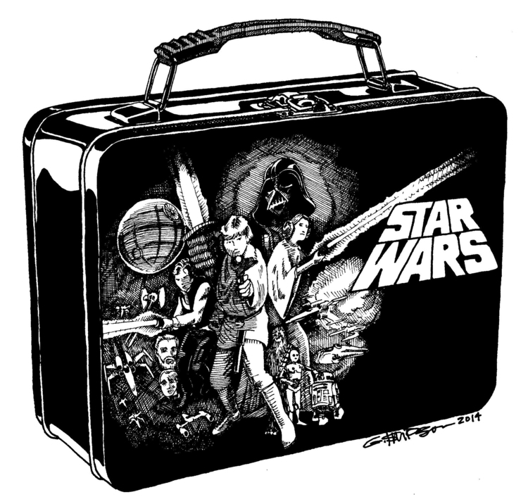 Star Wars lunch box, chapter il - gsimpson | ello