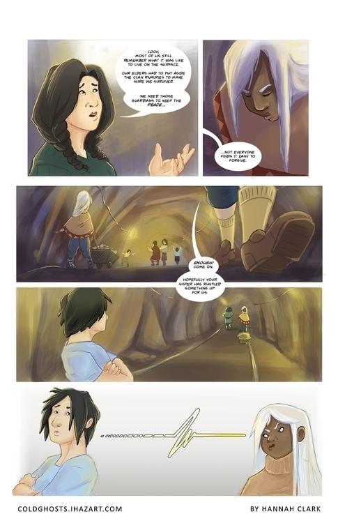 Personal comic project pg 10 - webcomics - ihazart | ello