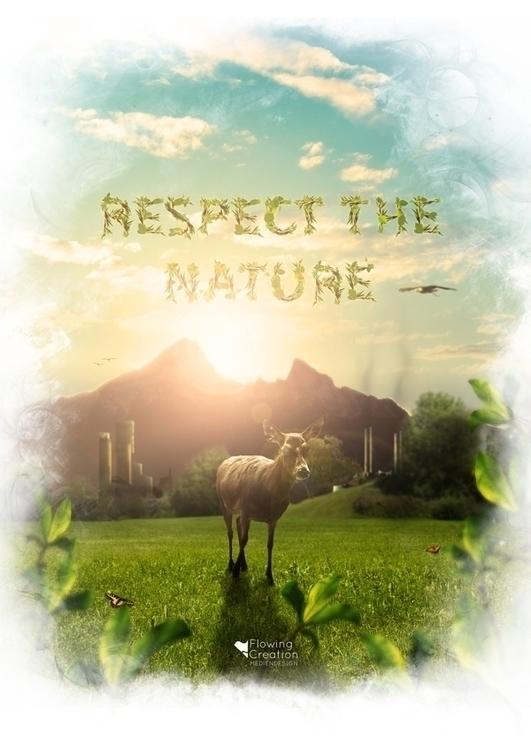 Respect Nature Florian Wohllebe - flowingcreation | ello