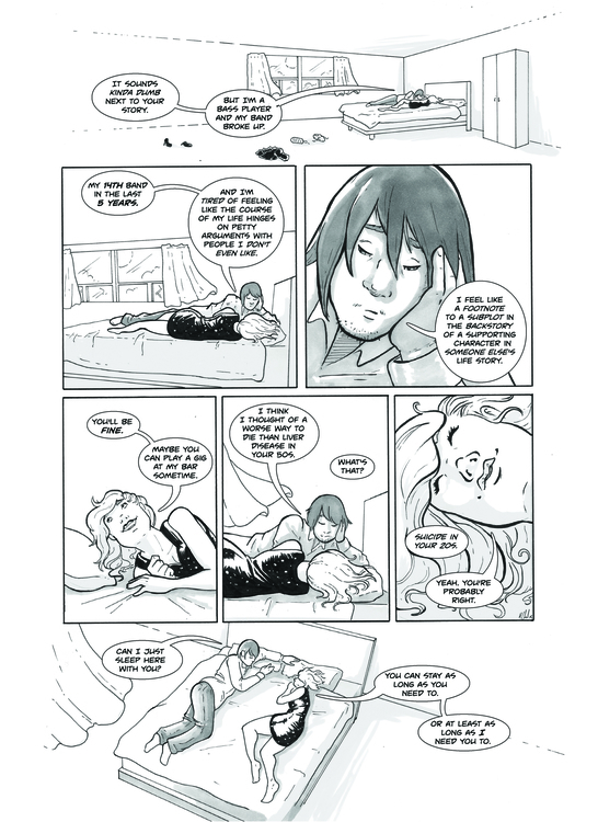 Short comic ''Jump'' page 4 - comics - ihazart | ello