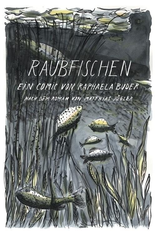 """Raubfischen""/Fishing predators - marikeleroux | ello"