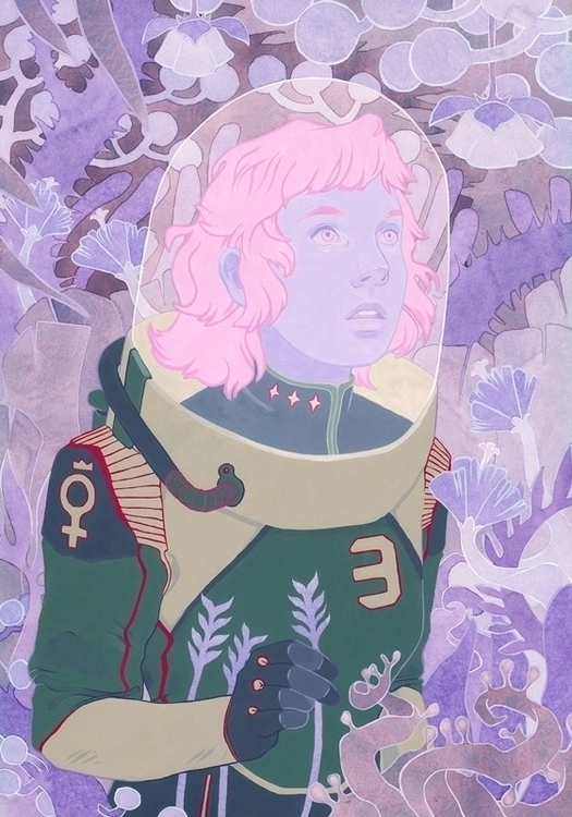 Empress - Kelly Airo - illustration - kairo-1139 | ello