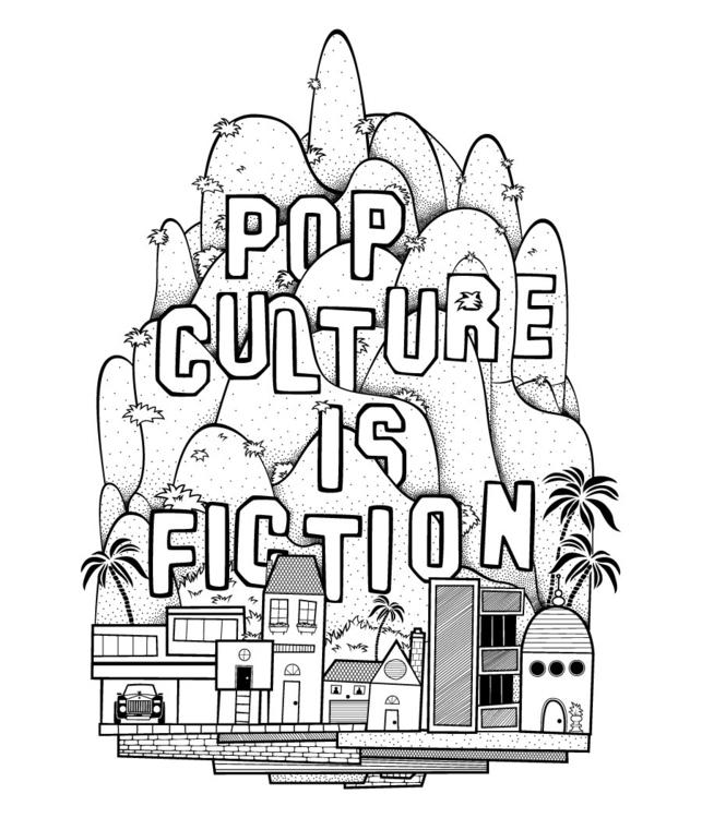 Pop Culture Fiction - illustration - doogger07 | ello