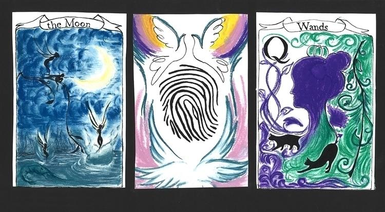 Magical Tarot Card Design - Ink - ilianasergeev | ello