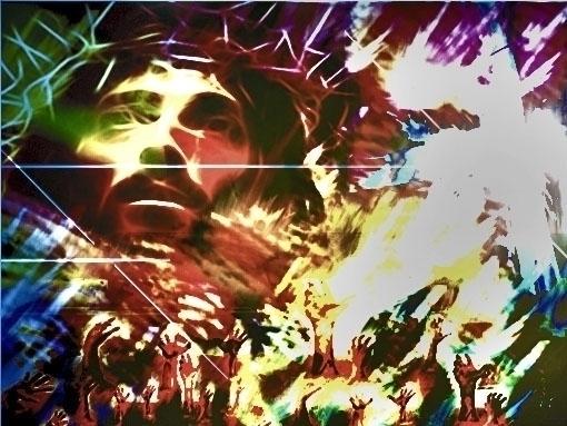 Jesus' Lament - conceptualpainting - smokie-1441 | ello