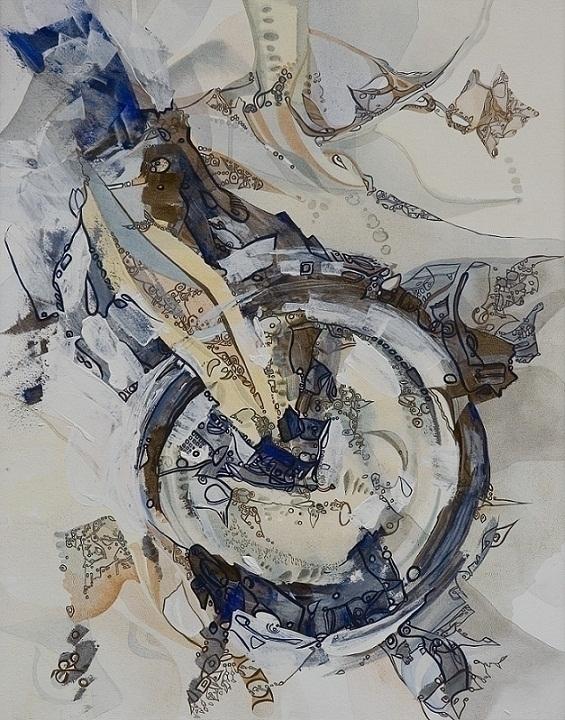 painting, acryliconcanvas, abstractpainting - annafilimonova | ello