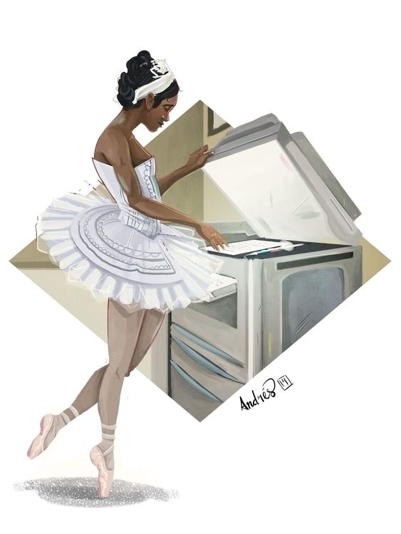 Ballerina Broken Dreams Series  - kalegiro | ello