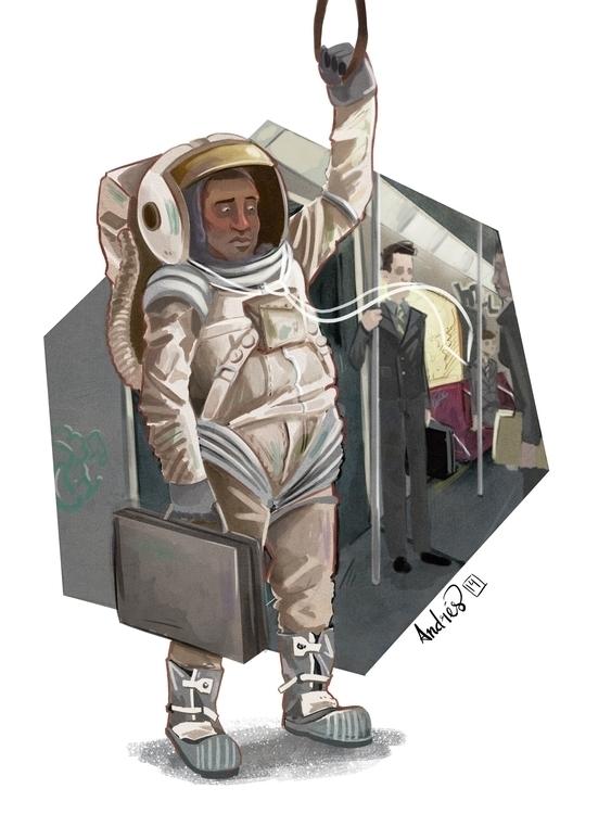 Astronaut Broken Dreams Series  - kalegiro | ello