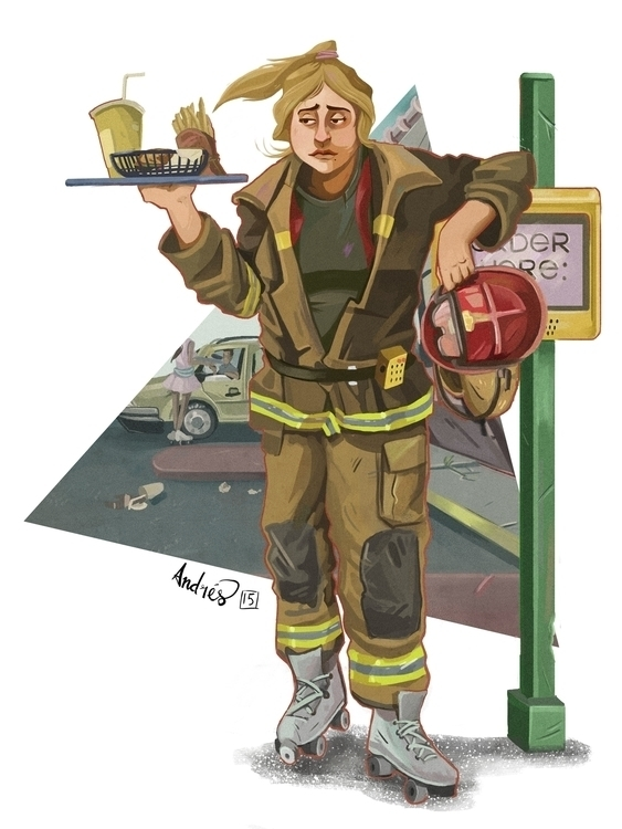 Firefighter Broken Dreams Serie - kalegiro | ello