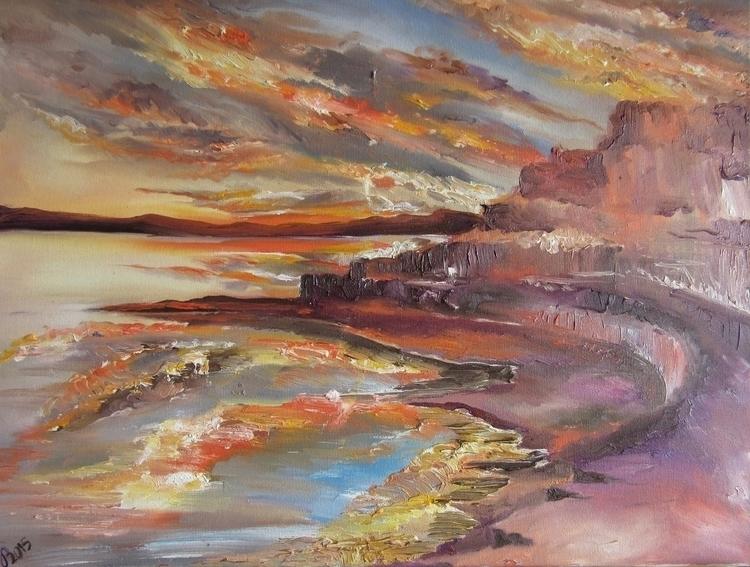 Mirror tones - Oil Painting 201 - vanniegama | ello