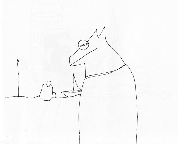 drawing, blackandwhite, human - tychonikum | ello
