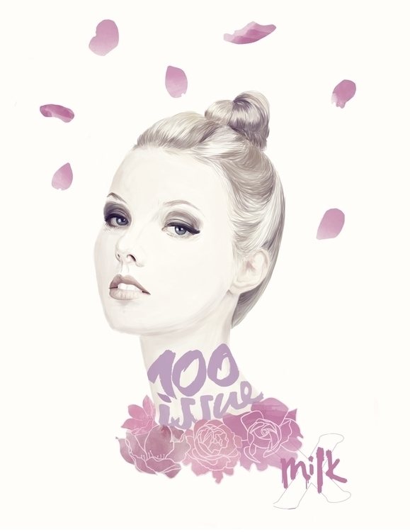 Milk HK - illustration, fashionillustration - paolawiciak | ello